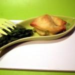 Finti tortellini asparagi e ricotta per un aperitivo finger food