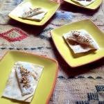 Sogliola ai profumi d'oriente in versione finger food, l'inno alla semplicità
