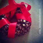 Ghirlande di riso soffiato e cioccolato per un Natale handmade e glutenfree