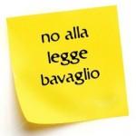 NO alla legge bavaglio. Post a rete unificata #noleggebavaglio