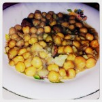 Zuppa dolce di ceci e castagne di Leonia