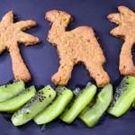Biscotti integrali mandorle e zenzero (senza zucchero, burro e lievito)