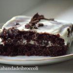 Mattonella cioccolato e ricotta, per colorare novembre (glutenfree)