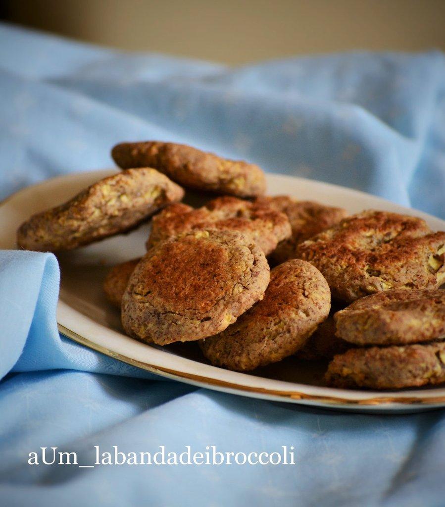 Biscotti vegani senza zucchero seconda versione