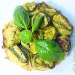Rotolini di zucchine e sbriz con basilico e grani del paradiso (glutenfree)