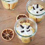 Bicchieri di savoiardi con crema di ricotta all´arancia (glutenfree)
