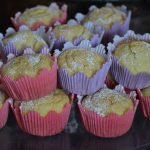 Muffin dolci di pastinaca al profumo di limone (glutenfree)